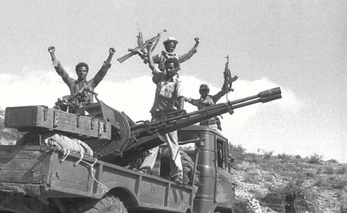 the battle of Nakfa, Eritrea