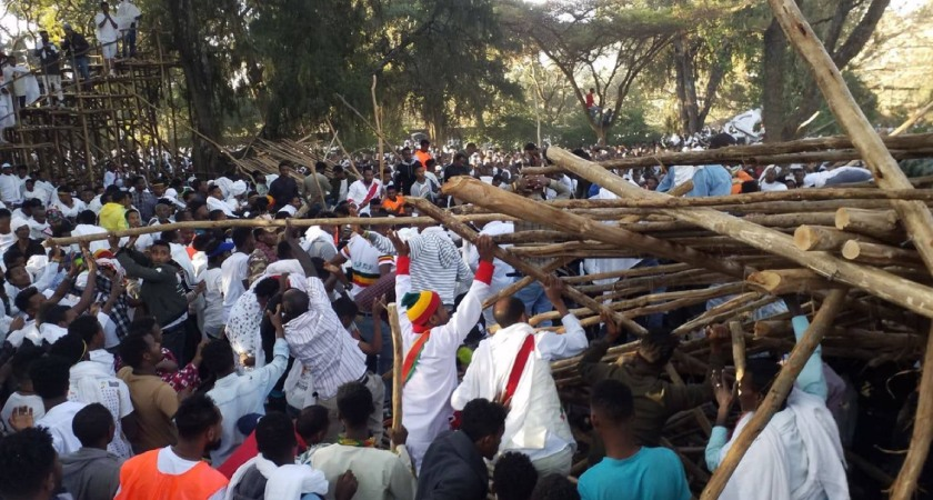 Ten people are confirmed dead at Ethiopian Orthodox Christian festival in Gondar city