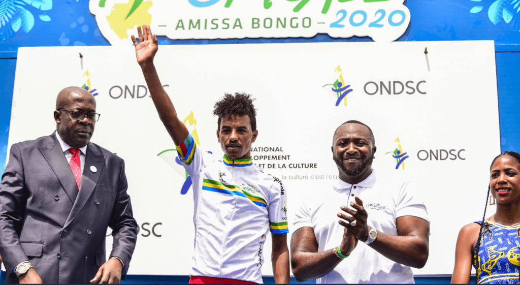Natnael Tesfazion wins La Tropicale 2020 - stage 2