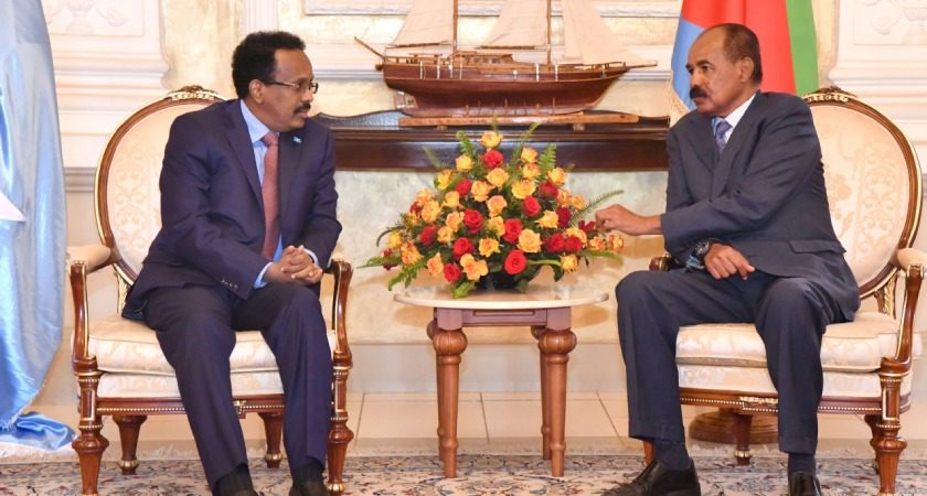 President of Somalia on Working Visit in Eritrea