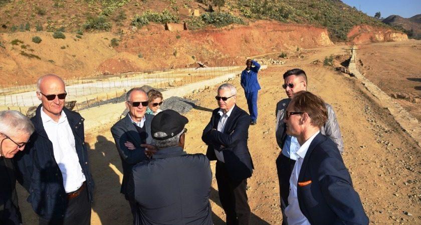 EU Ambassadors Inspect Eritrea Road Project