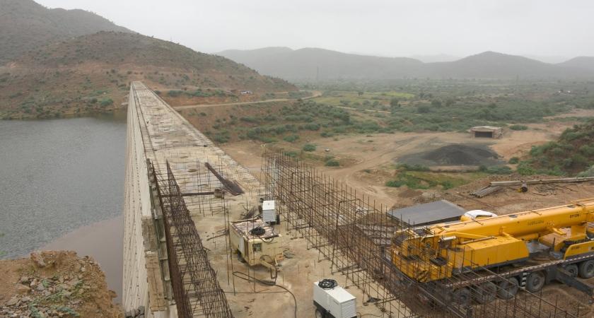 Gahtelay Dam is the 3rd largest dam in Eritrea