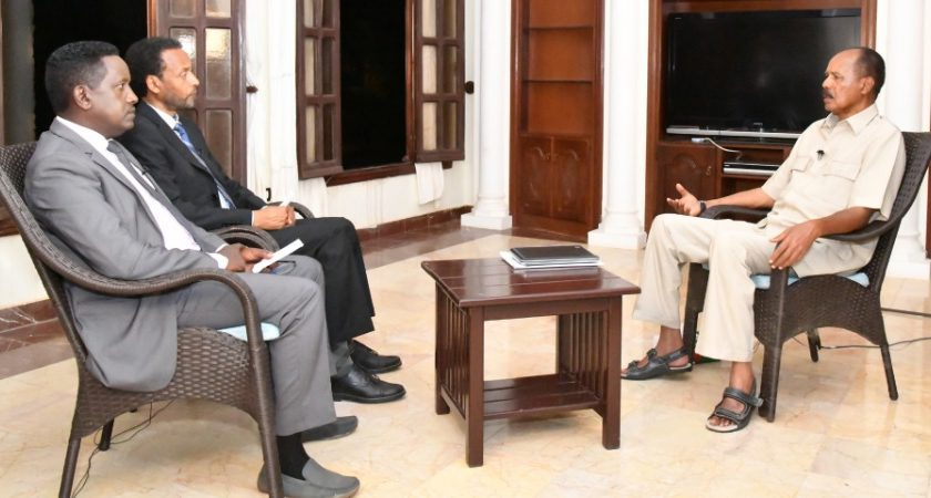 Excerpts of President Isaias Afwerki Interview on Domestic Issues
