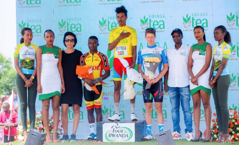 20 years old Eritrean rider Natnael Tesfazion becomes the WINNER of Tour du Rwanda 2020.