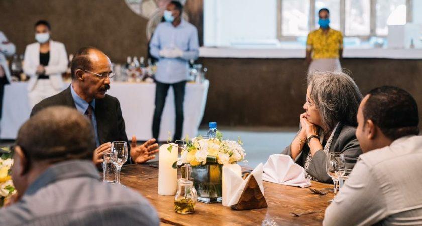 Amid Pandemic, President Isaias Visits Ethiopia