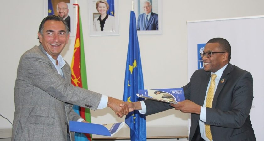 Agreement Signed to Strengthen Eritrea National Statistics Project