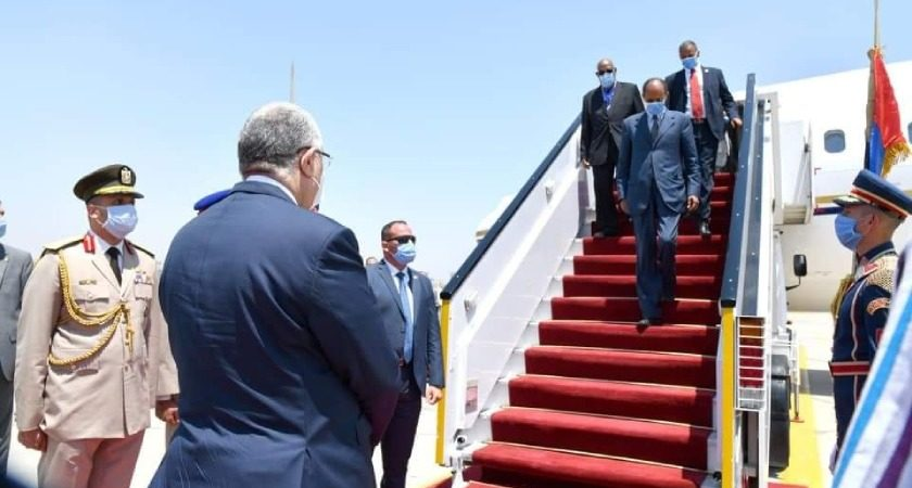President Isaias on Working Visit to Egypt