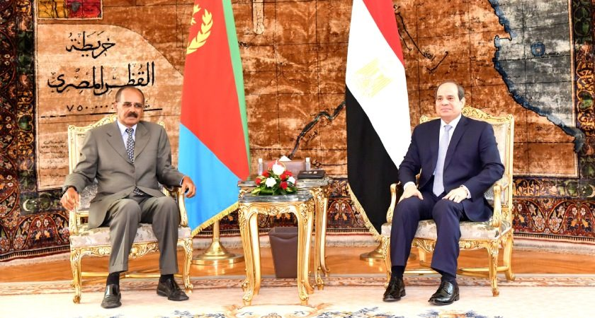 Egypt, Eritrea Leaders Discuss Developments in Horn of Africa, Red Sea