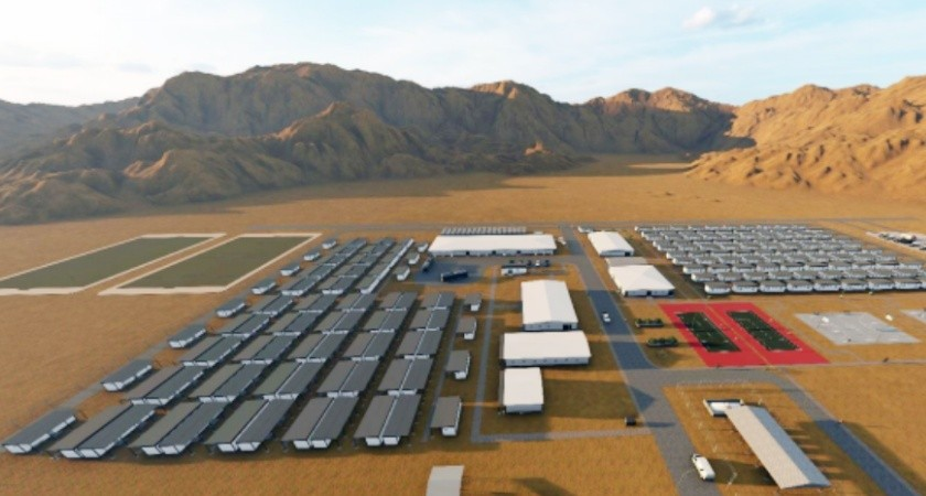 RA International will supply, deliver, and install a mine accommodation camp for colluli mine