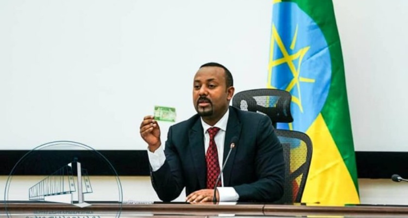 The Ethiopian government has unveiled a new set of banknotes to curb cash hoarding