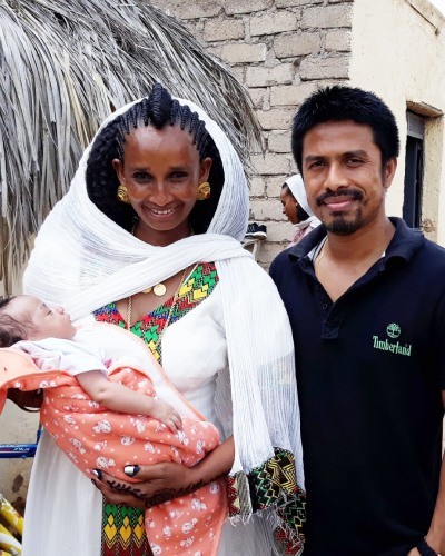 Dr. Sailesh obstetrician, and gynecologist in Eritrea