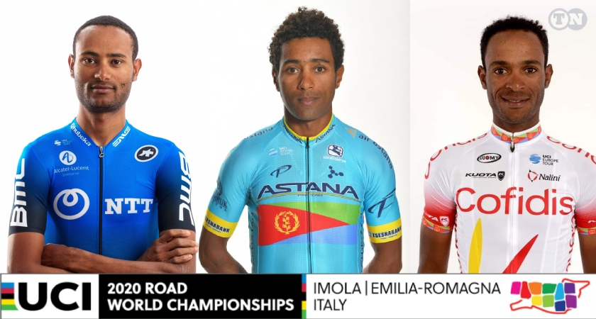 Eritrea is participating at the 2020 UCI Road World Championships Cycling competition