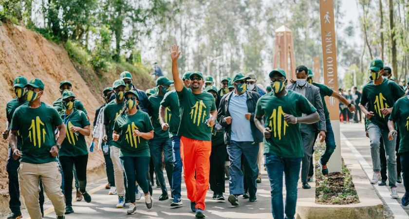 Abiy's ultimate goal is to move Ethiopia away from ethnic politics.