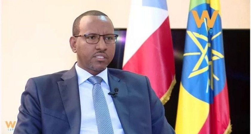 Speaker of the House of Ethiopia's Federation, Adem Farah
