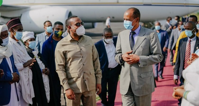 President Isaias on a 3-Day Working Visit to Ethiopia