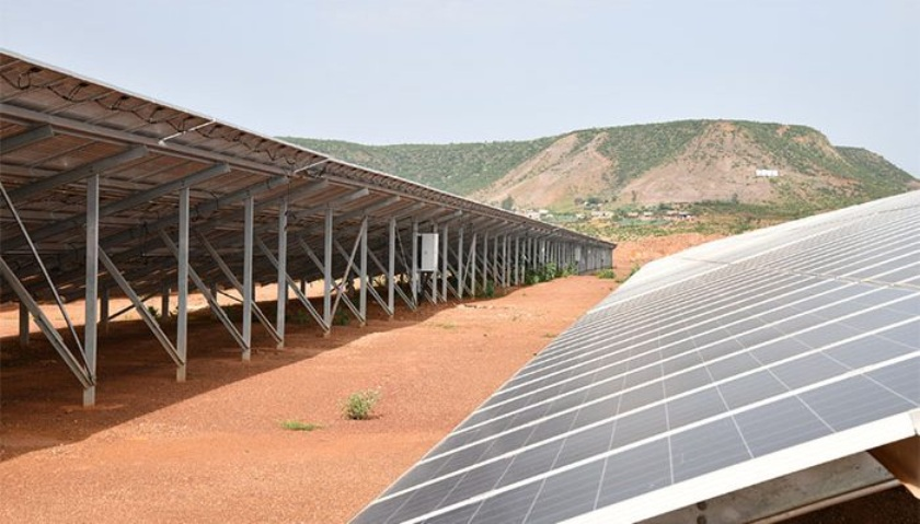 Besides supplying renewable energy to various developmental projects, the solar farms are serving as centers of professional development