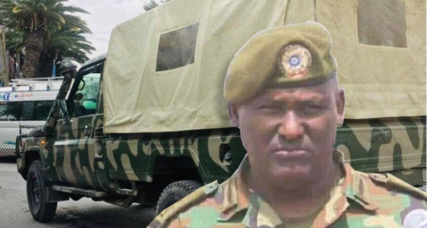 Major General Belay Seyoum said Eritrean troops had entered Tigray uninvited while his soldiers were battling TPLF
