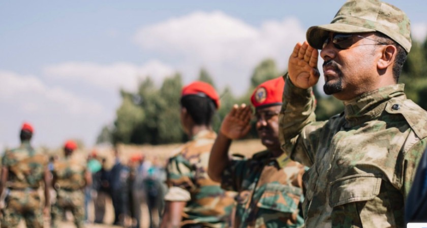PM Abiy send the army to Tigray region to crackdown on criminals within the TPLF i