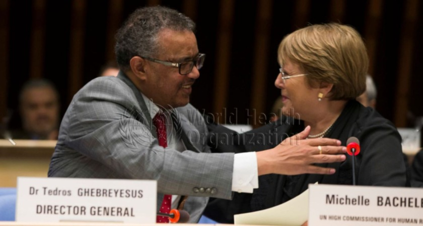 Tedros Adhanom and Michelle Bachelet concocting disinformation against Ethiopia