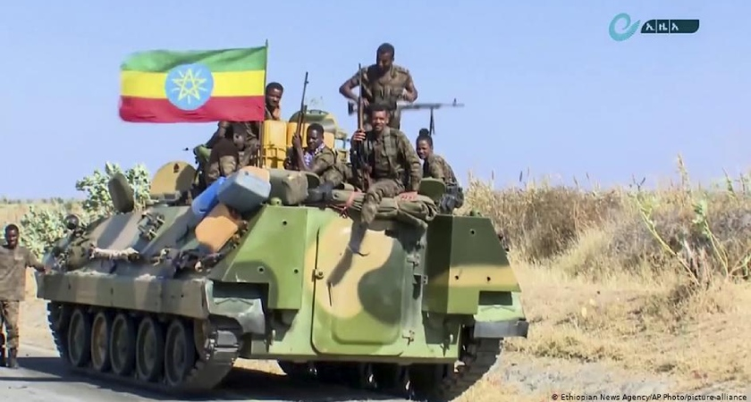 The U.S. believes Eritrean soldiers helping federal forces against TPLF