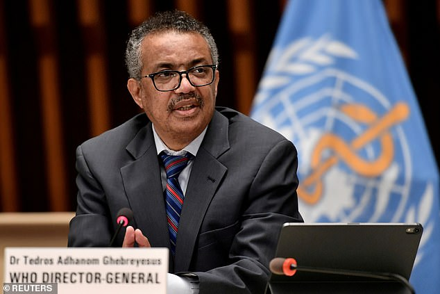 A genocide criminal charges filed against WHO Chief Tedros Adhanom at the ICC