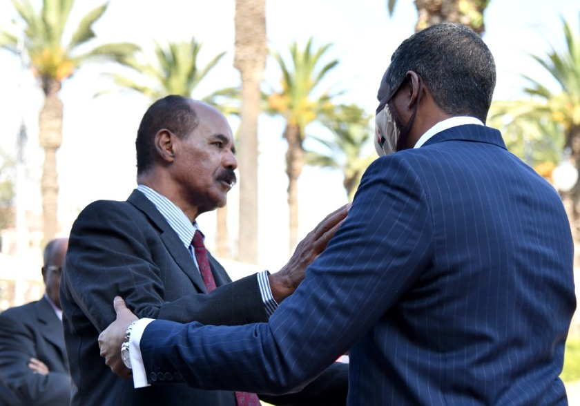 VP of the Sovereignty Council of Sudan, Lt. General Mohammed Hamdan Duglo 'Hemetti' held talks with President Isaias.