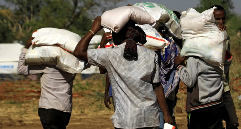 starvation is threatening Tigray region of Ethiopia