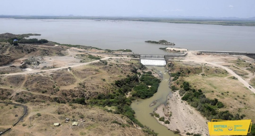 Kerkebet Dam is the biggest man-made dam in Eritrea