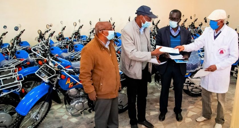 Eritrea: UNICEF Donates 100 Motorbikes